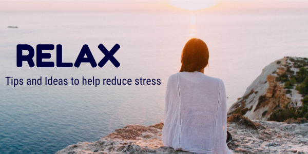 relax and reduce stress
