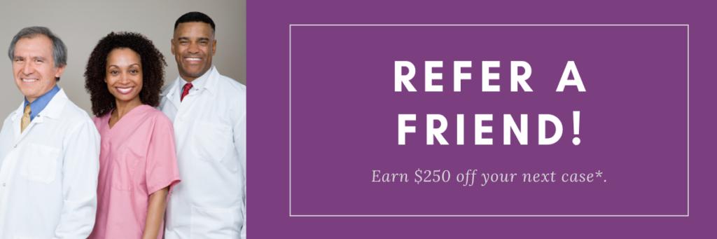Essentials Refer a friend earn $250 credit
